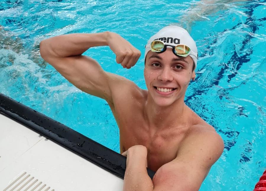 Performanță pentru înotătorul român David Popovici! La doar 16 ani, s-a calificat la Jocurile Olimpice de la Tokyo