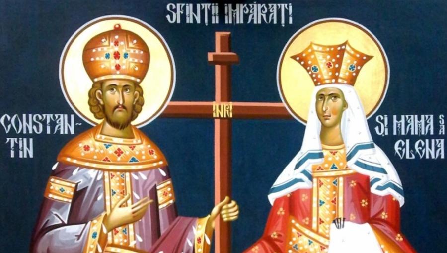 Sfinții Împărați Constantin și Elena, oamenii potriviți la locul potrivit și lecția de recunoștință dată peste veacuri