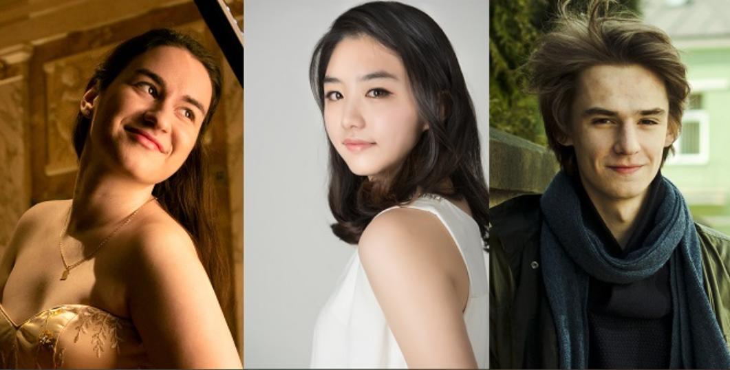 Ei sunt cei trei pianiști calificați în finala Concursului Internațional George Enescu
