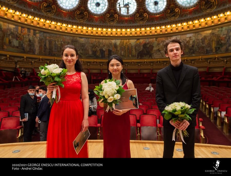 Marele premiu al Secțiunii de Pian la Concursul Enescu 2020  a fost câștigat de Yeon-Min Park din Coreea de Sud
