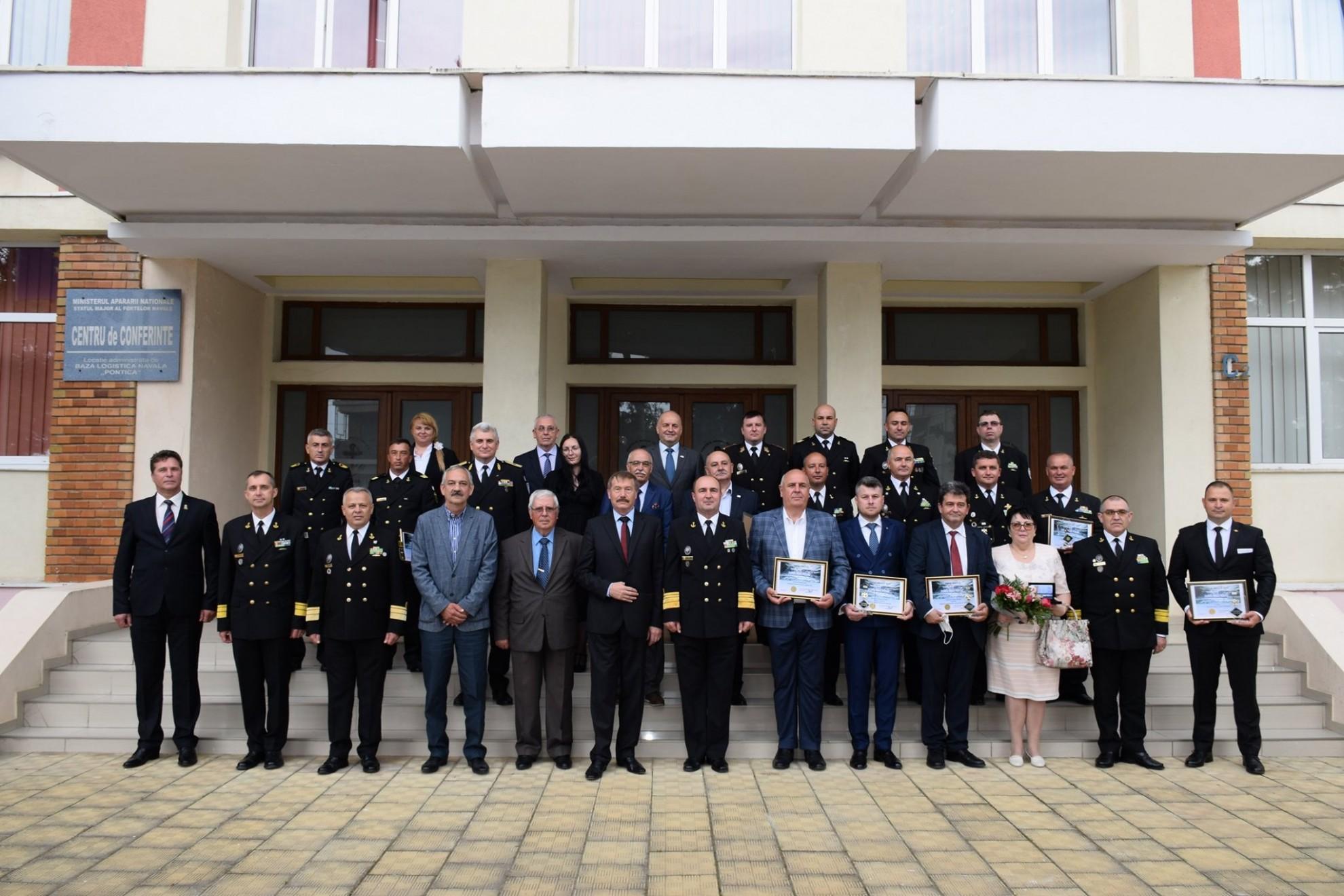 """Ei sunt câștigătorii Concursului """"Omul Anului 2020 în Forțele Navale"""""""