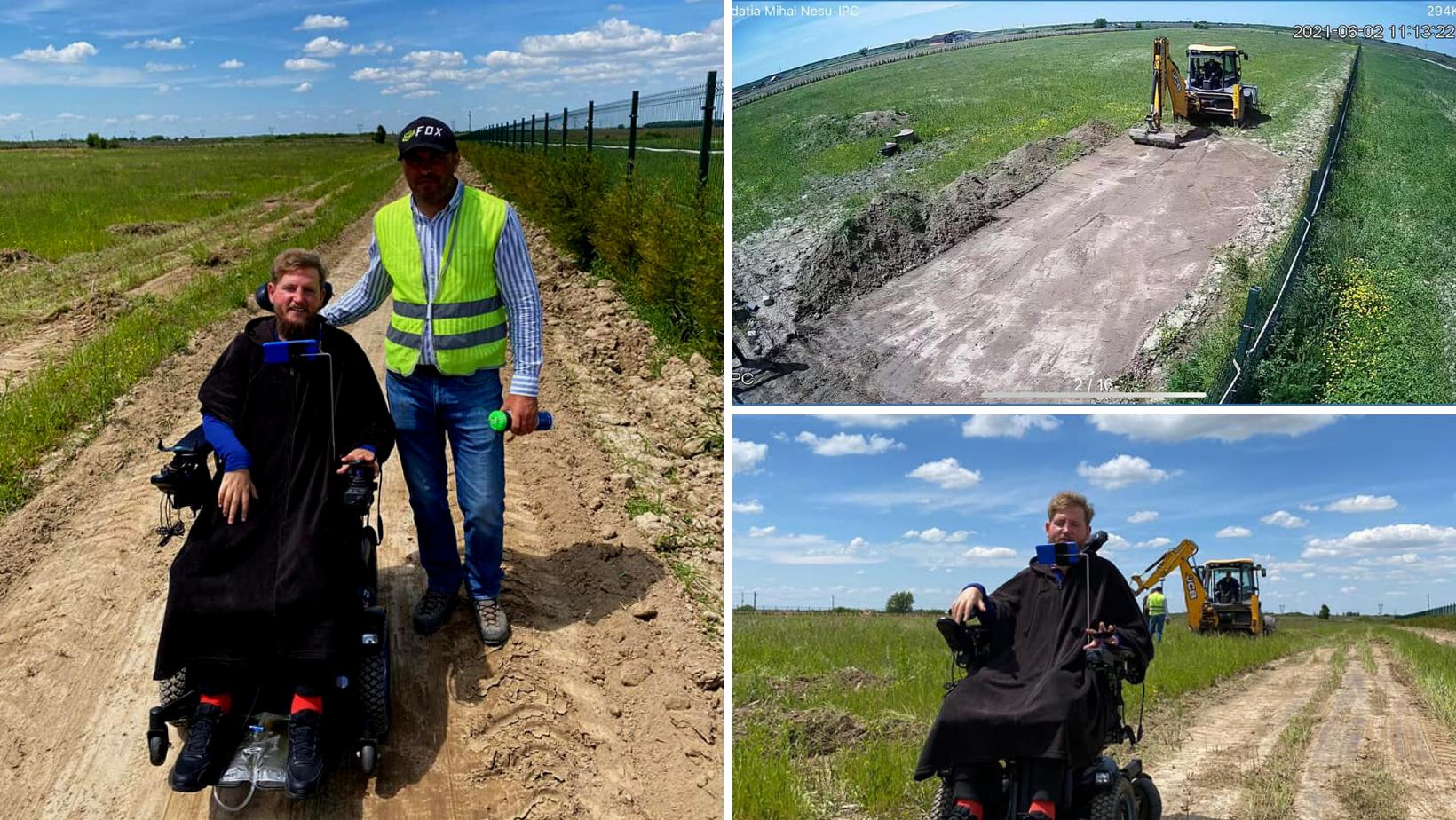 """Vești bune de la Mihai Neșu! S-a început lucrul pe șantierul pentru construcția Complexului de recuperare """"Sfântul Nectarie"""" pentru copii cu dizabilități neuromotorii"""