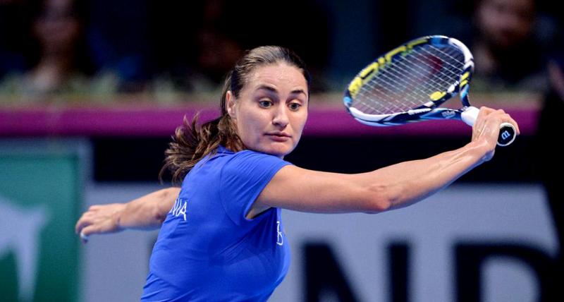 Monica Niculescu s-a calificat în optimile probei feminine de dublu la Roland Garros