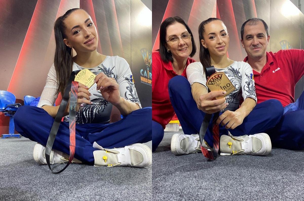 Larisa Iordache, aur la bârnă la Cupa Mondială de la Cairo