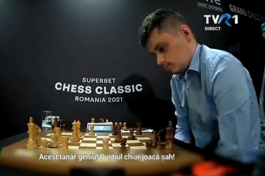 Un român de 19 ani uimește lumea șahului! Bogdan Deac l-a învins pe numărul 12 mondial