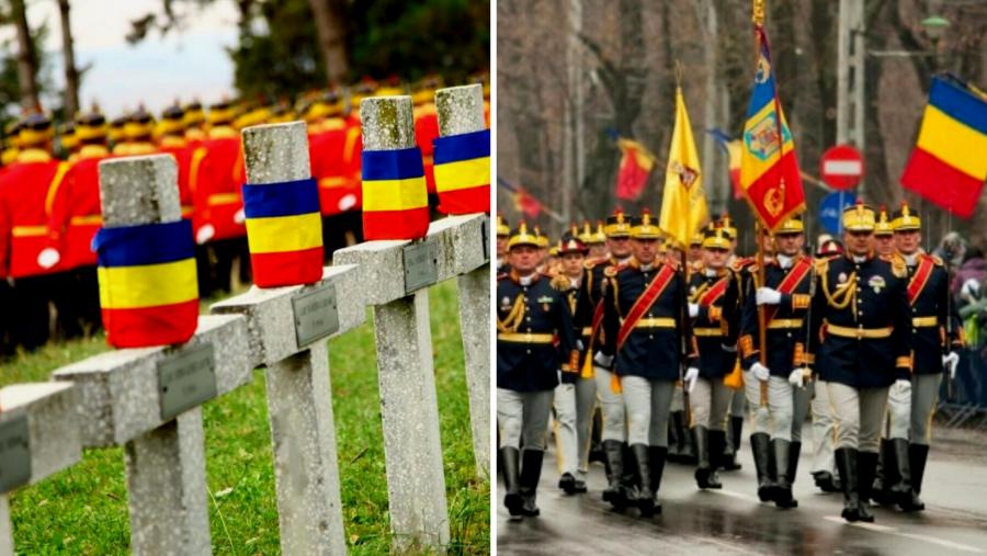 Bat clopotele astăzi peste România, în semn de prețuire și recunoștință față de Eroii care s-au jertfit pentru neam, credinţă şi ţară