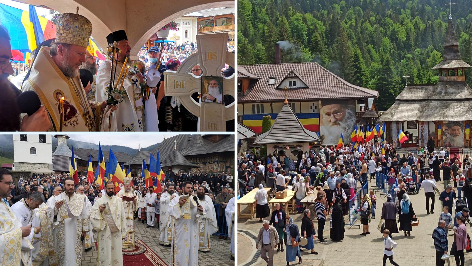 Părintele Iustin Pârvu, la 8 ani de la plecarea în veșnicie. PS Emilian Crișanul a oficiat Sfânta Liturghie și Parastasul la Mănăstirea Petru Vodă din Neamț