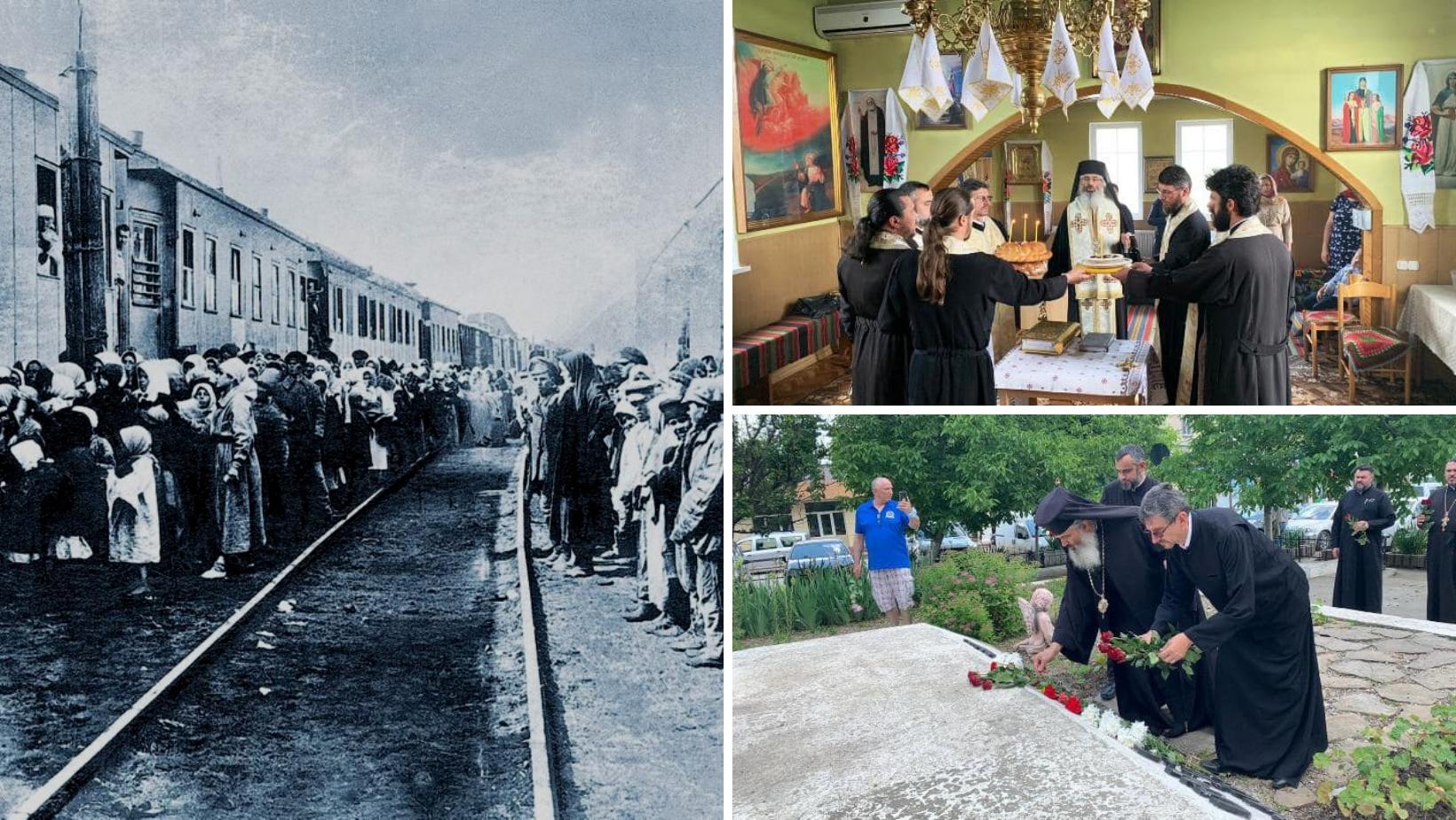1.271 de vagoane pentru marfă pline cu deportați basarabeni plecau, în urmă cu 80 de ani, spre Siberia și Kazahstan