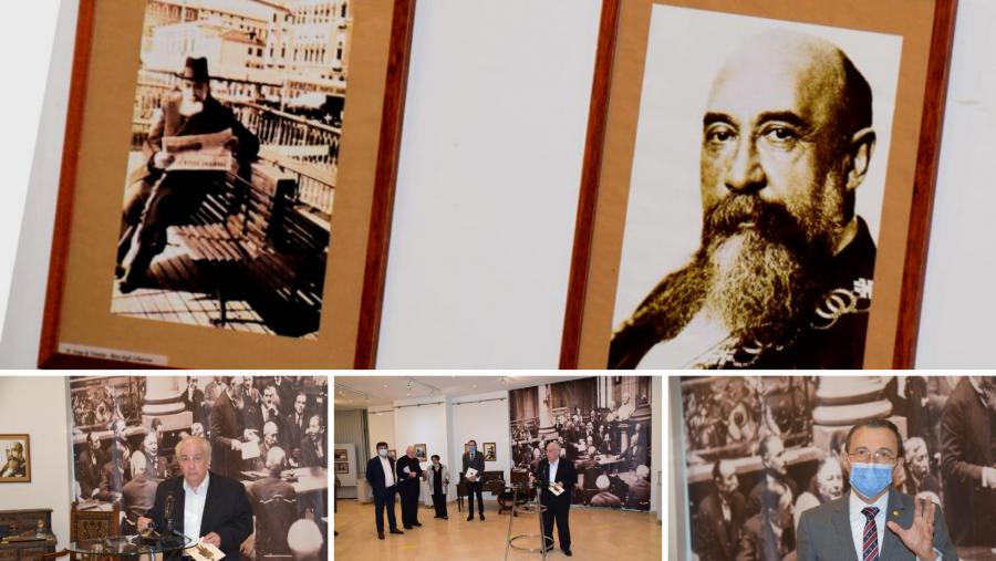 Nicolae Iorga a fost omagiat la 150 de ani de la naștere, la Biblioteca Academiei Române