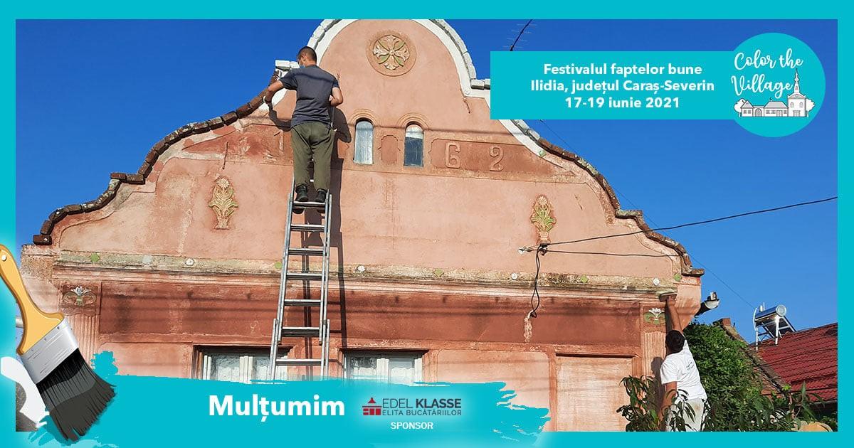 Sute de voluntari din întreaga țară vor repara şi zugrăvi faţadele a 30 de case  din Banatul Montan