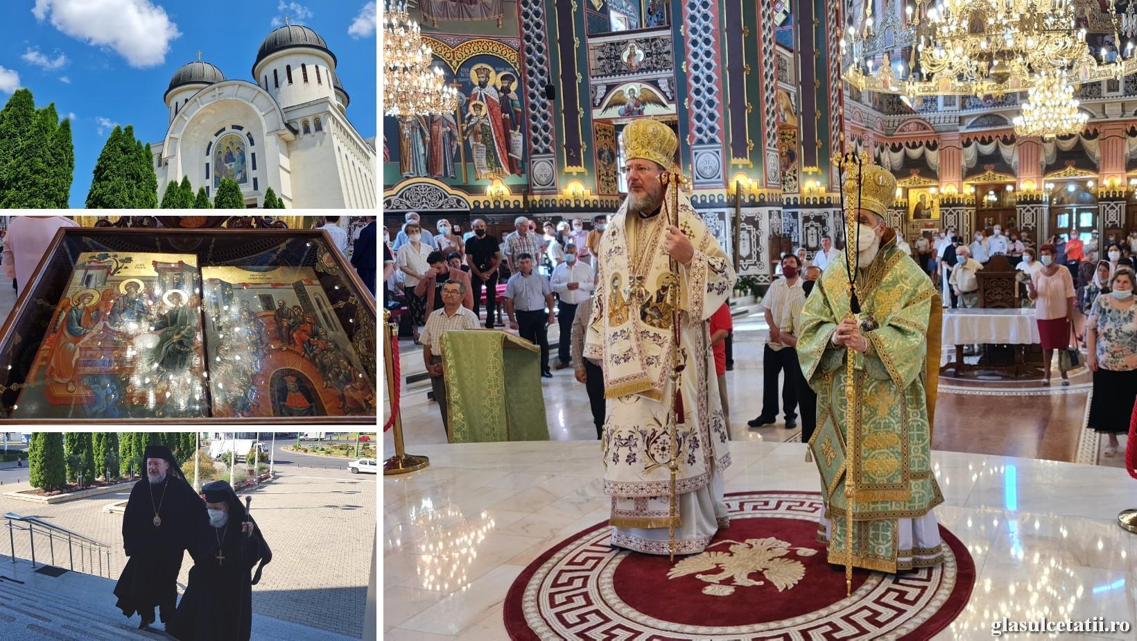 """Catedrala Arhiepiscopală """"Sfânta Treime"""" din Arad și-a serbat hramul în prezența celor doi Ierarhi arădeni"""