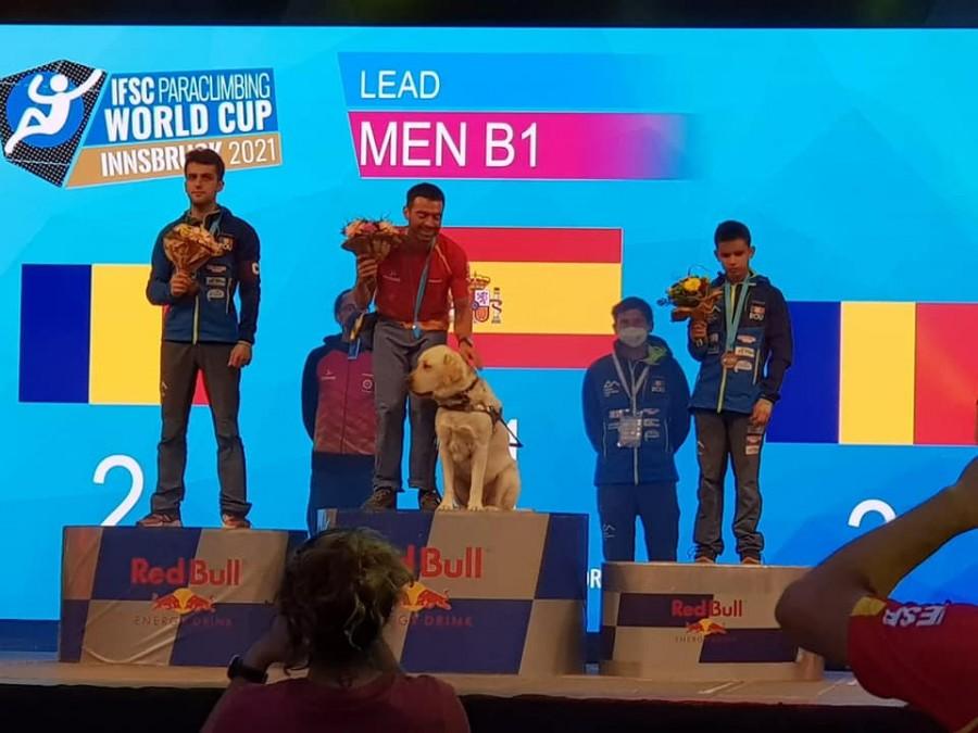 Medalii de argint și bronz pentru sportivii români la Cupa Mondială de Paraclimbing de la Innsbruck