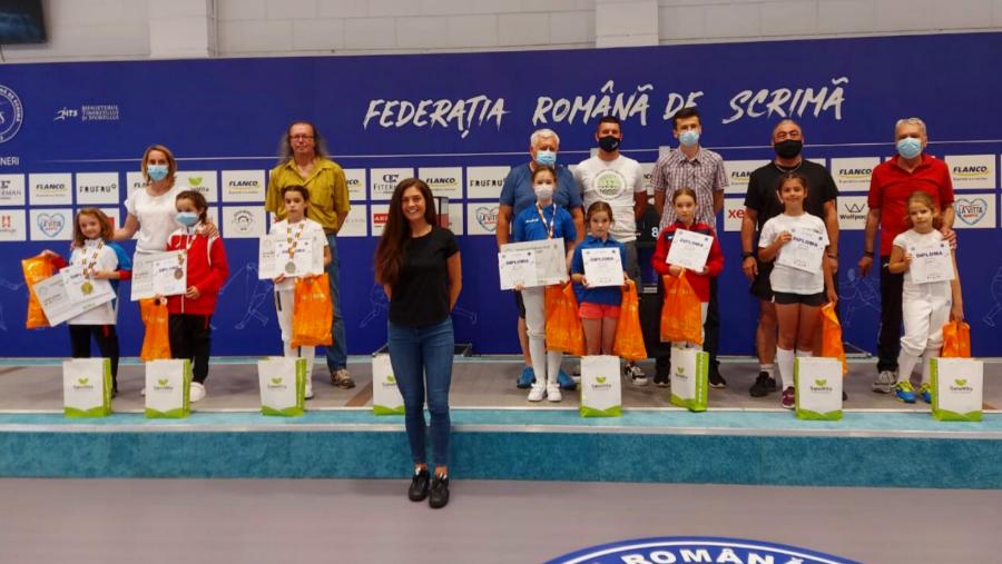 Antonia Maria Balteș este campioana spadasinelor la U9!