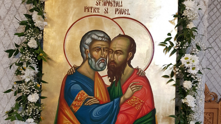 Arhiepiscopia Aradului are 16 biserici închinate Sfinților Apostoli Petru și Pavel