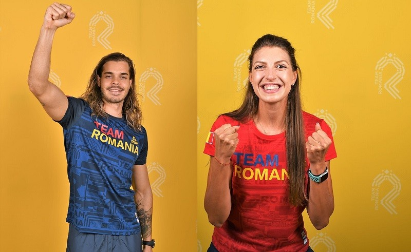 Mădălina Bereş şi Robert Glinţă, purtătorii de drapel ai echipei României la Jocurile Olimpice de la Tokyo