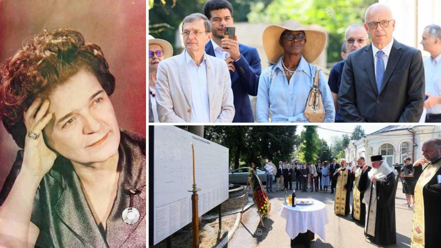 Ioana Radu, ambasadorul Germaniei în România și noua placă informativă cu numele personalităţilor româneşti inaugurată la Cimitirul Bellu