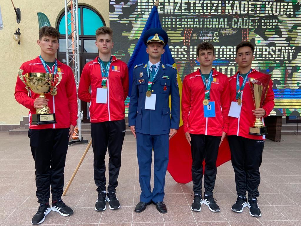 "România a câștigat competiția ""1st International Cadet Cup"" din Ungaria"