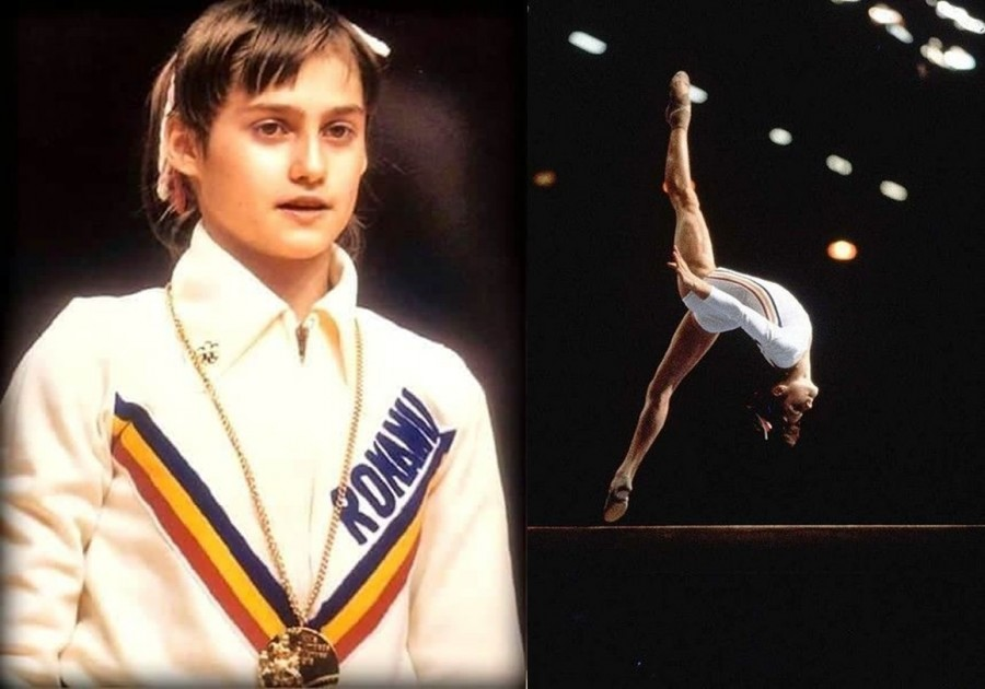 Astăzi se împlinesc 45 de ani de când Nadia Comăneci a devenit prima gimnastă din lume care a primit nota zece într-un concurs olimpic de gimnastică
