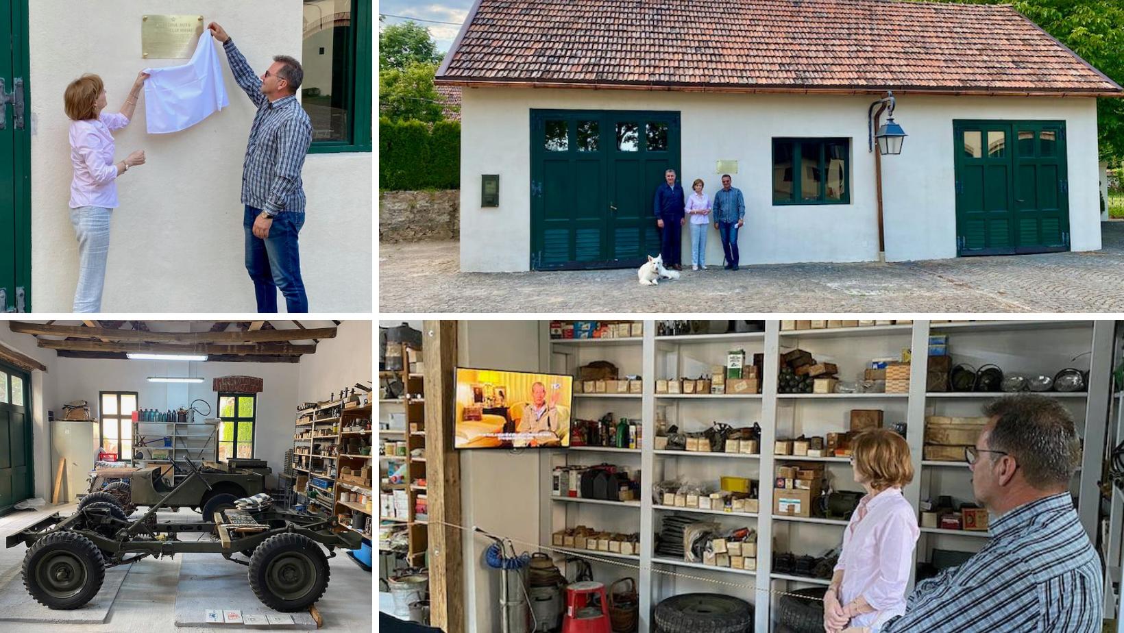Atelierul auto al Regelui Mihai a fost inaugurat la Săvârșin