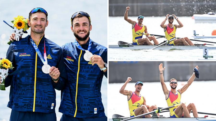 Marius Cozmiuc şi Ciprian Tudosă au adus a 4-a medalie pentru România la Jocurile Olimpice de la Tokyo!