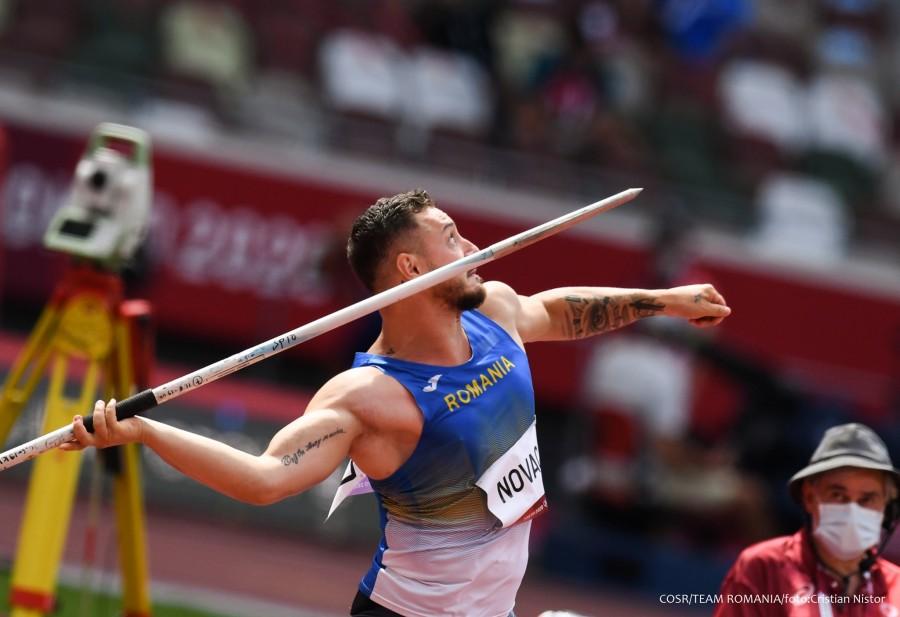 Alexandru Novac s-a calificat în finală la aruncarea suliţei