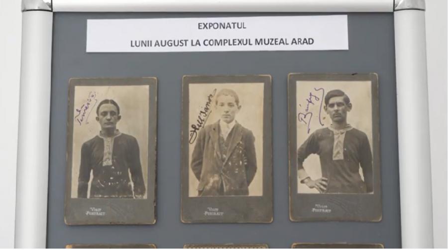 Exponatul lunii august la Complexul Muzeal Arad: o colecție de legitimații sportive, emise în anii 1913 și 1914