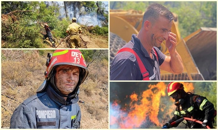 """Presa din Grecia laudă intervenția pompierilor români: """"Meticulozitatea și reflexele instinctive sunt uimitoare"""""""
