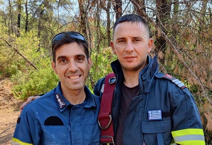 Un gest cu o însemnătate extraordinară! Cum a reușit un pompier grec să își emoționeze colegii români