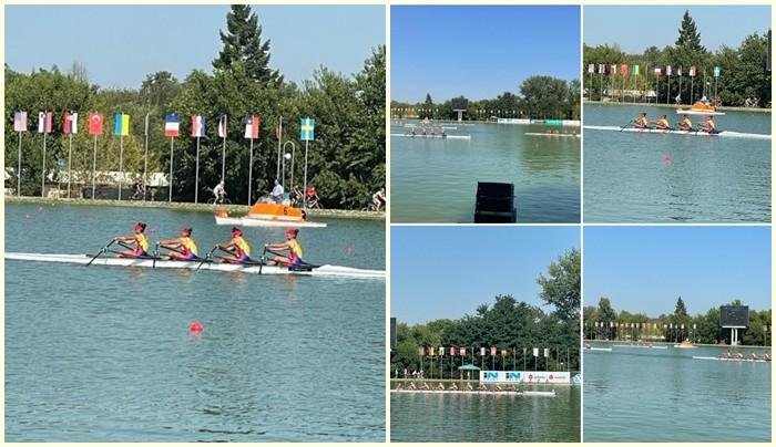 Şase echipaje româneşti de canotaj s-au calificat în finalele Mondialelor de juniori de la Plovdiv