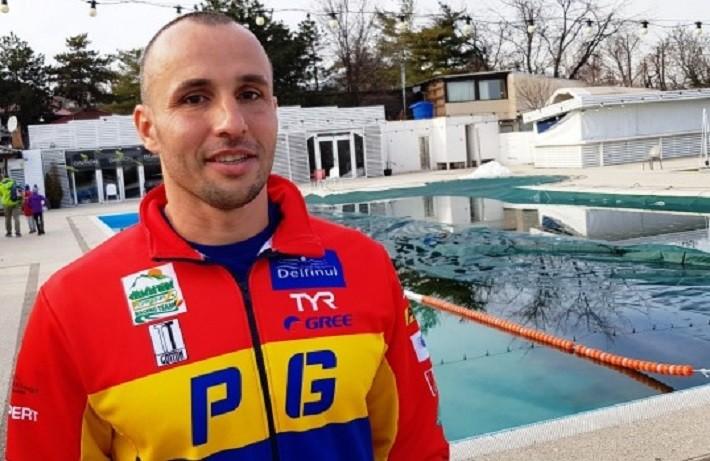 Premieră pentru România. Înotătorul Paul Georgescu a traversat 6 lacuri de peste 100 de km în 7 zile