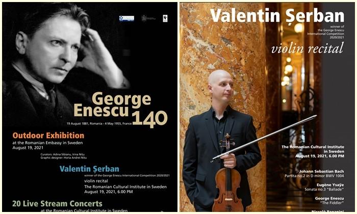 Recitalul violonistului Valentin Șerban a deschis porțile ICR Stockholm, pentru public,  pentru prima dată după perioada de restricții