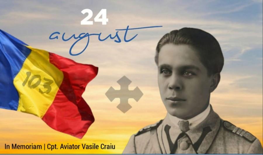 Vasile Craiu, cel mai bun pilot român din Primul Război Mondial, comemorat la 103 ani de la ultimul zbor