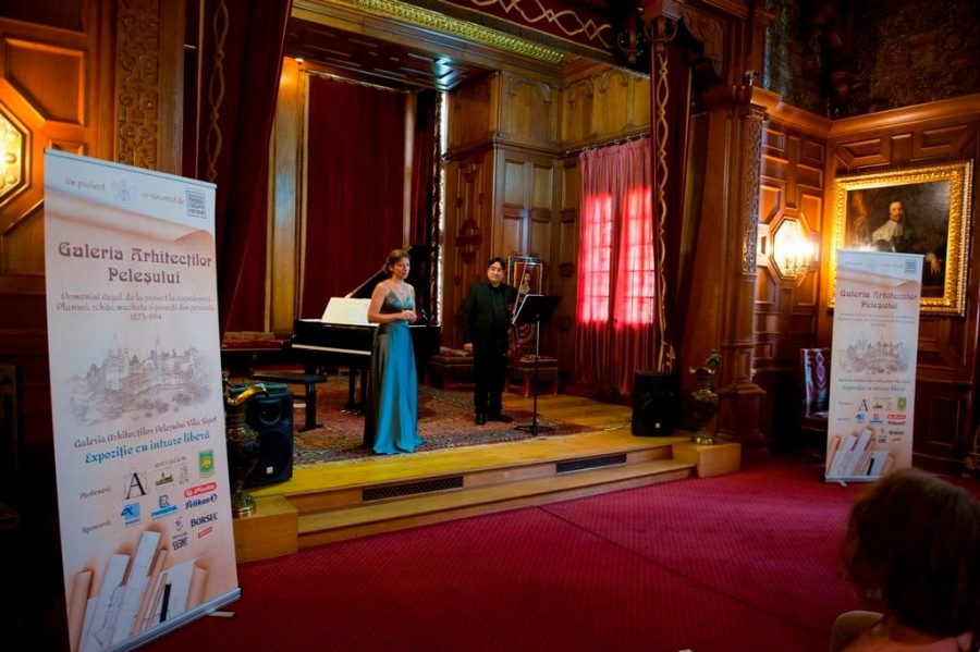 Prima expoziție organizată vreodată în Casa Arhitecților de pe Domeniul Regal Peleș, deschisă publicului