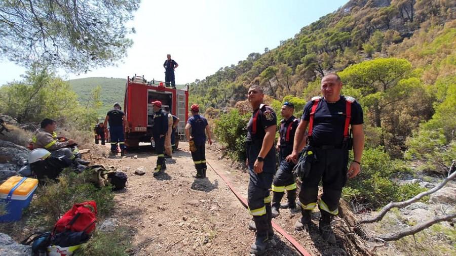 Misiunile pompierilor militari români, în continuă desfășurare în Grecia