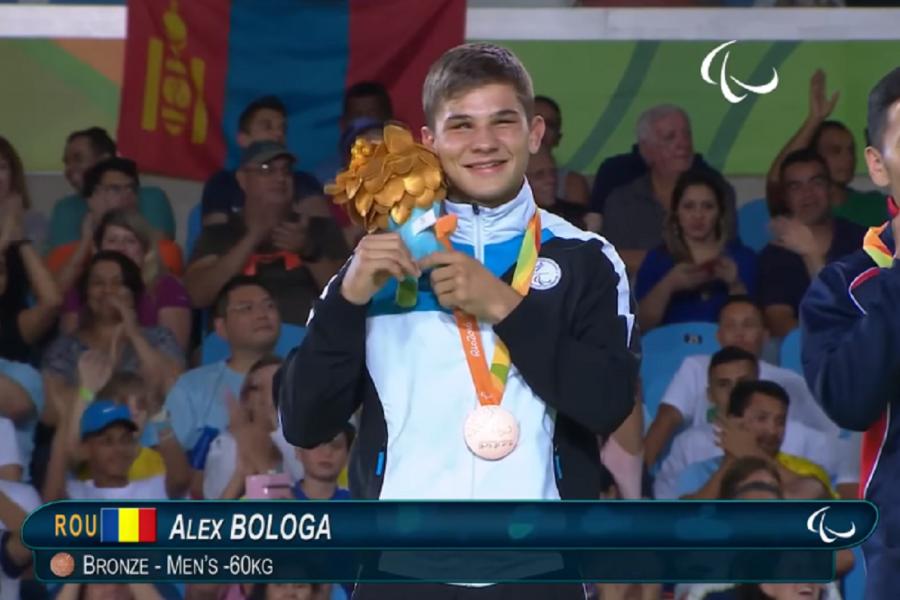 A doua medalie pentru România la JO: Alex Bologa a câștigat bronzul la judo