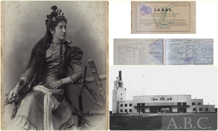 Un bilet de avion emis de compania L.A.R.E.S. în anul 1940 - Exponatul lunii la Complexul Muzeal Arad