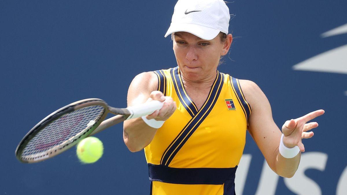Simona Halep, eliminată de la US Open 2021 de Elina Svitolina