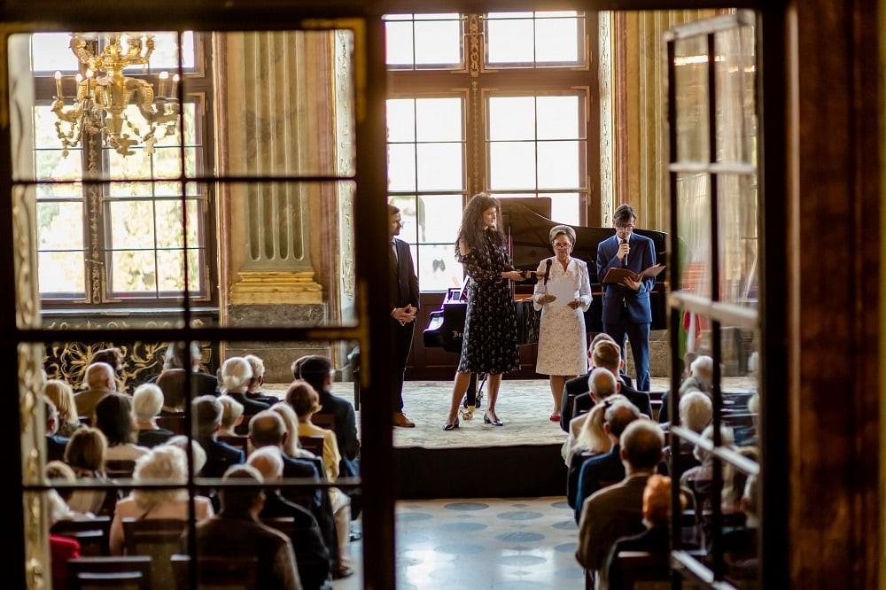 Principesa Sofia, vernisaj de artă fotografică în Polonia
