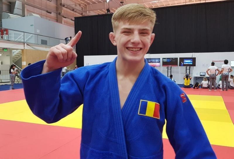 Judoka Adrian Șulcă  e campion european de juniori!