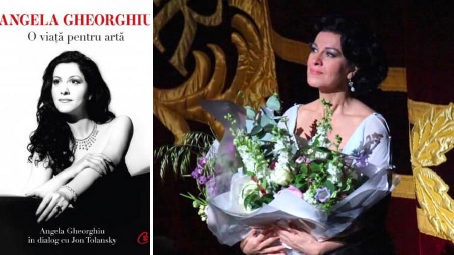 Angela Gheorghiu și-a lansat biografia în limba română, în aplauzele admiratorilor
