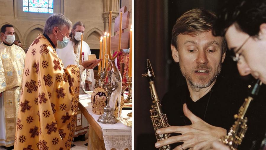Cel mai căutat profesor de saxofon din lume a fost hirotonit preot la parohia ortodoxă francofonă Louveciennes