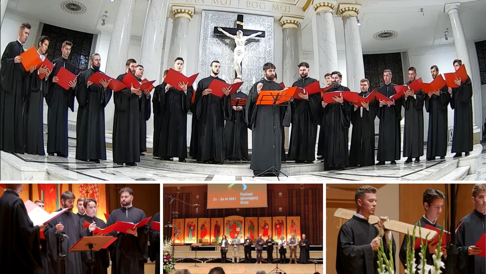 """Corul psaltic """"Sfântul Ioan Damaschin"""" din Arad, pe podium la Concursul Internațional de Muzică sacră din Bialystok – Polonia"""