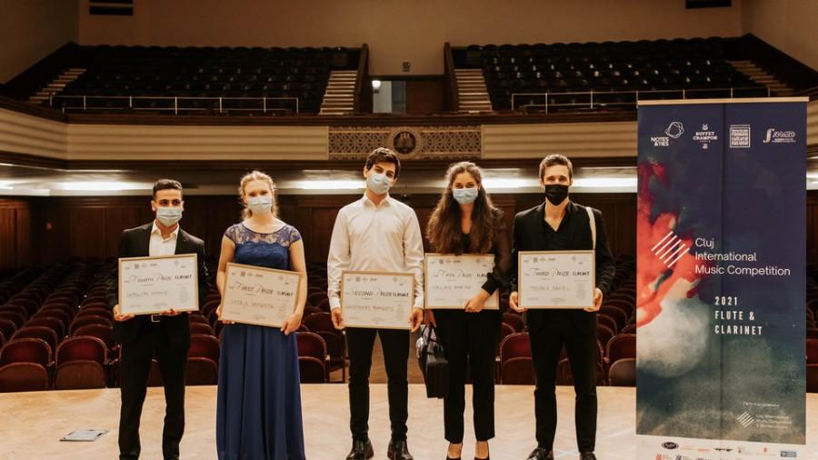 Ei sunt câștigătorii concursului de flaut și clarinet Cluj International Music Competition 2021