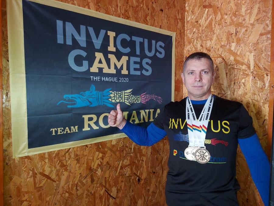 Nu demult, Eugen Mănăilă mergea într-un scaun cu rotile. Astăzi este campion național de powerlifting, la categoria 93 kilograme, Masters 2