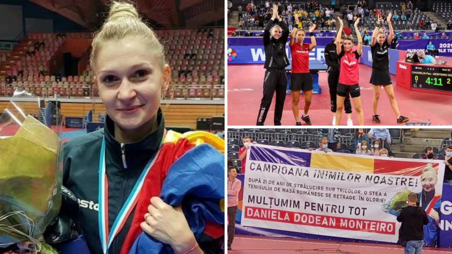 Daniela Dodean s-a retras în glorie de la națională, cu titlul de Vicecampioană europeană pe echipe!