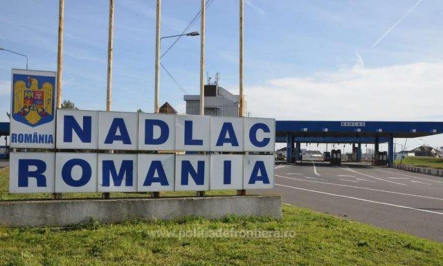 Coloane de camioane la frontiera cu Ungaria. La Nădlac II se aşteaptă 140 de minute pentru control