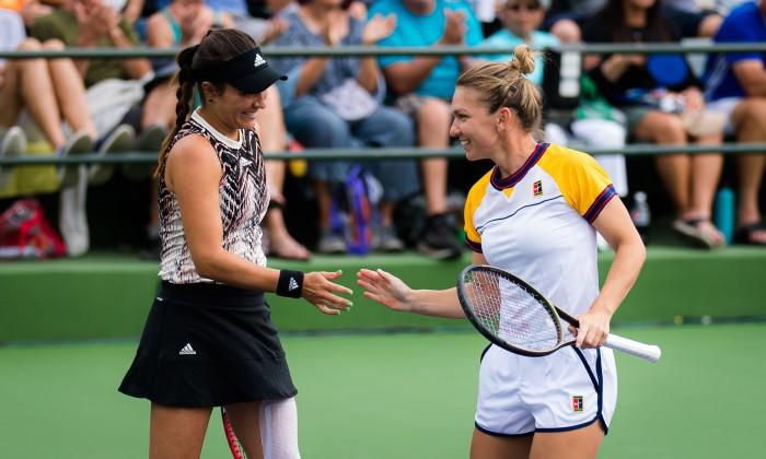Simona Halep şi Gabriela Ruse, calificate în optimile probei de dublu la Indian Wells