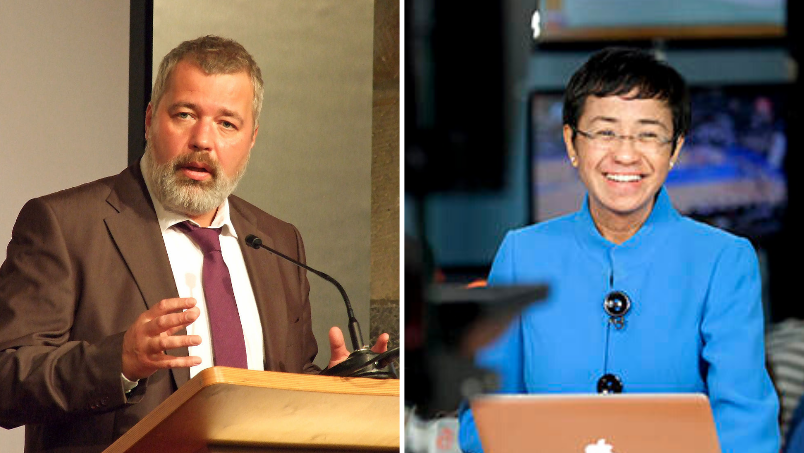 Premiul Nobel pentru Pace a fost câștigat de jurnaliștii Maria Ressa și Dmitri Muratov