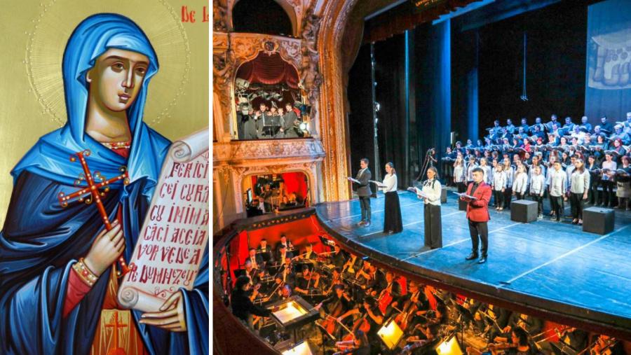 Concert vocal-simfonic în cinstea Sfintei Cuvioase Parascheva, la Opera Naţională Română din Iaşi