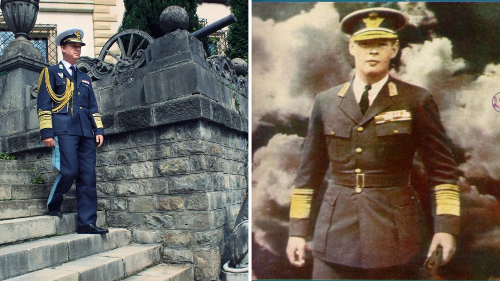 Centenarul nașterii Regelui Mihai I al României. Uniforma regală de aviație